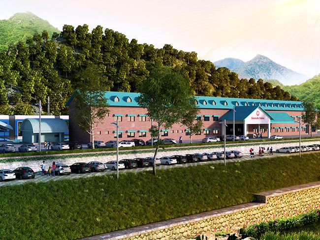 Qazigund Baramulla Railway Station