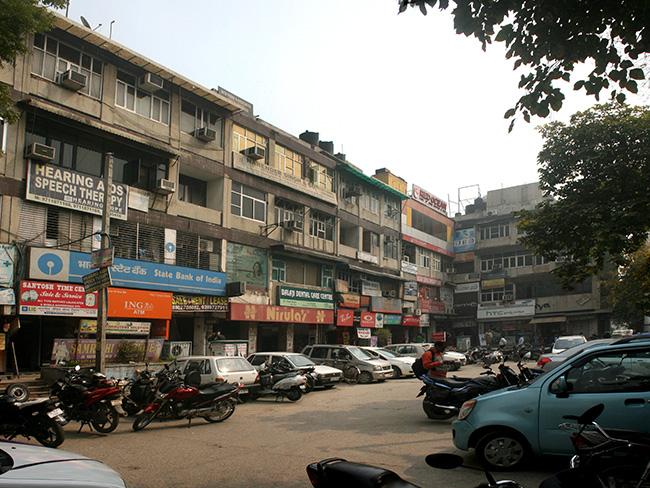Local Shopping Centre Prashant Vihar