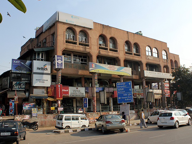 Local Shopping Centre Vasant Kunj