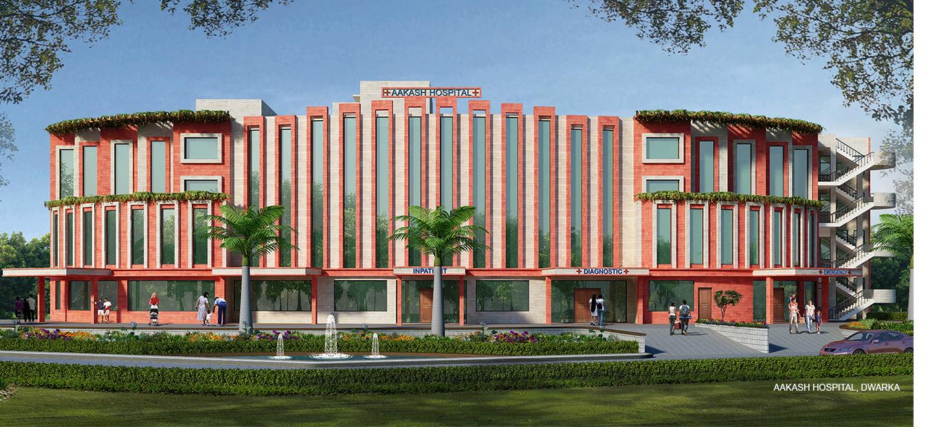 Aakash Hospital, Dwarka