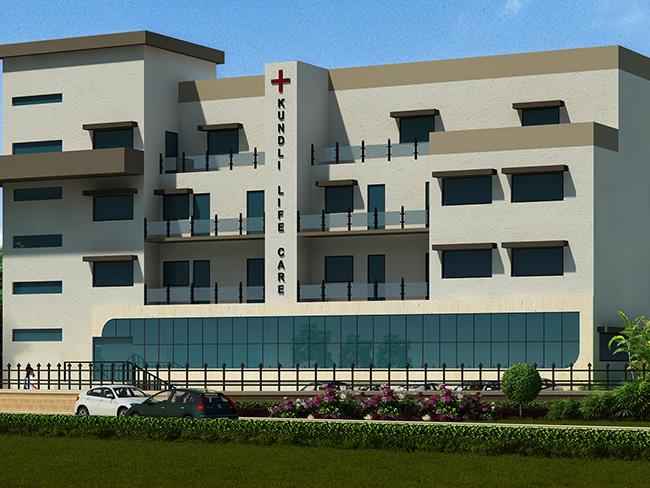 Kundli Life Care Hospital (150 Bedded)